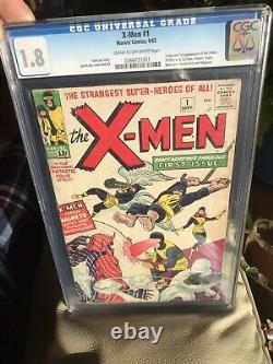 X-men 1 Cgc 1.8 1963