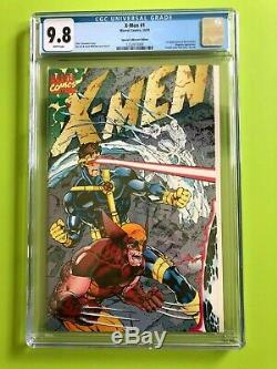 X-men 1 Cgc 9.8 White Pages. A Mutant Milestone. Special Collectors Edition