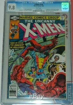 X-men #129 Cgc 9.8 Nm/mt 1st Kitty Pryde Emma Frost White Pages