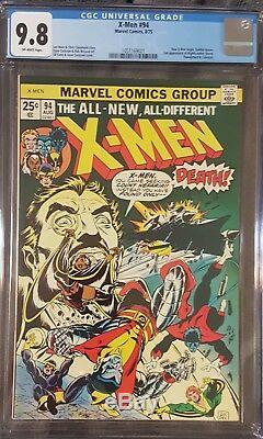 X-men # 94 Cgc 9.8