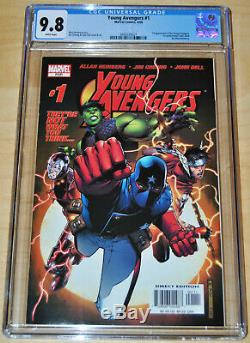 Young Avengers #1 CGC 9.8 (WHITE PAGES) 1st App Kate Bishop/Young Avengers KEY